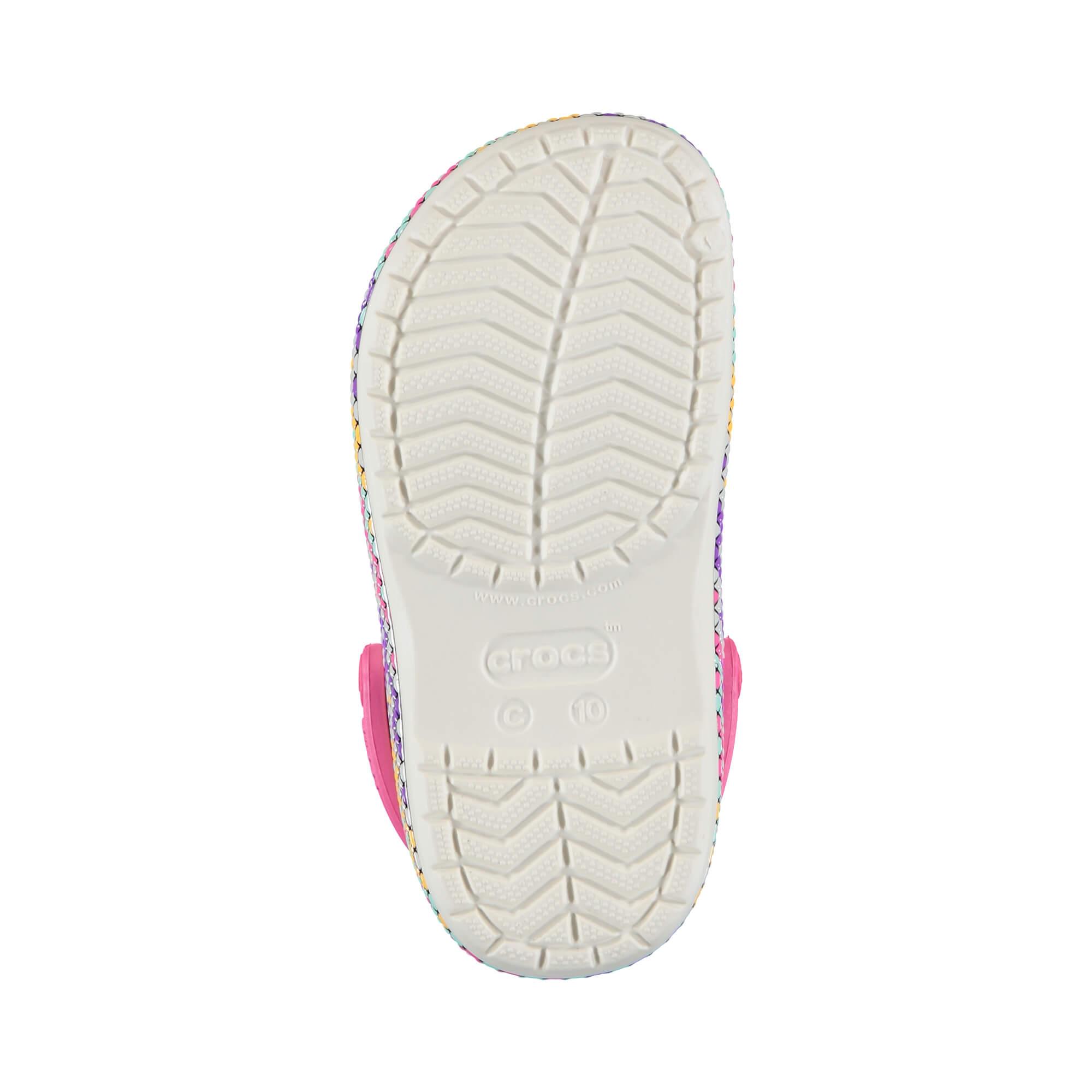 Crocs Crocband Gallery Clog Çocuk Beyaz Sandalet