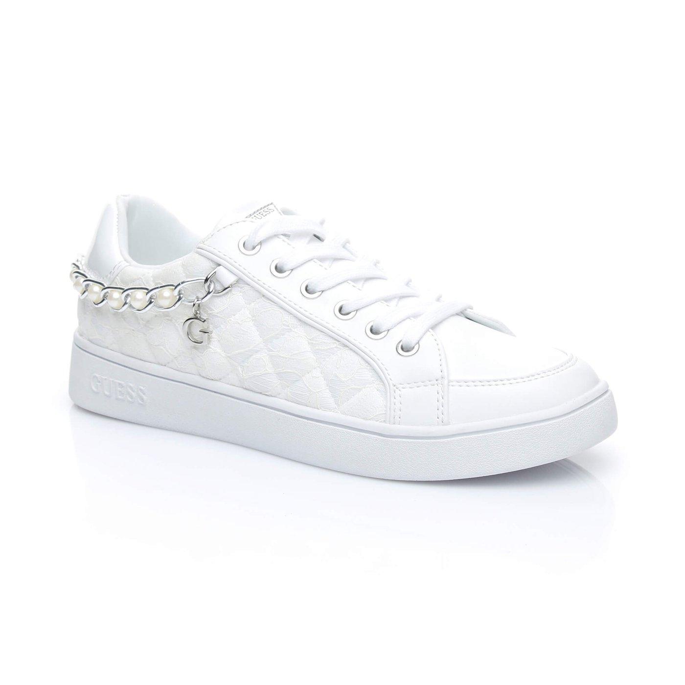 Guess Brıann2 Kadın Beyaz Sneaker