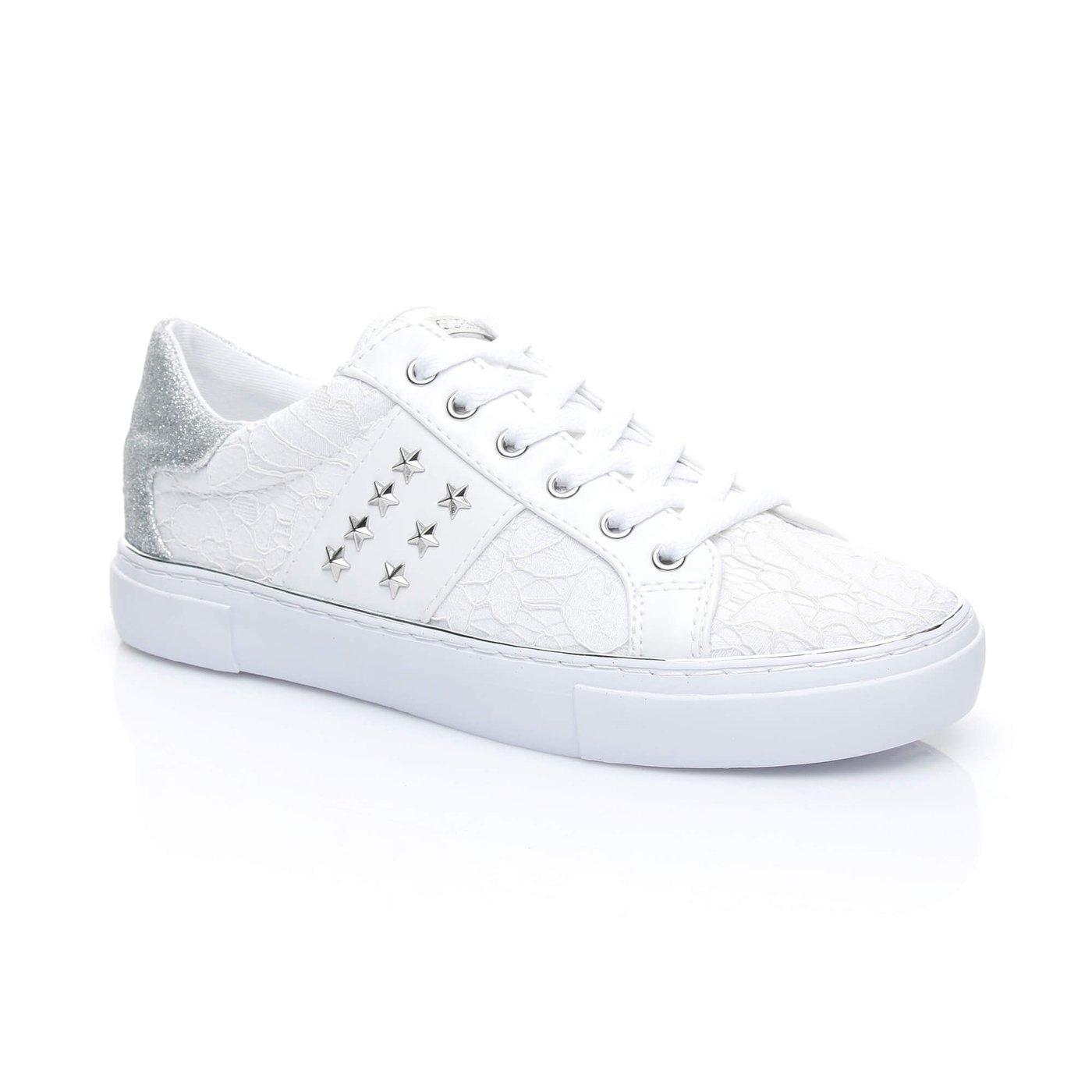 Guess Gamer Kadın Beyaz Sneaker