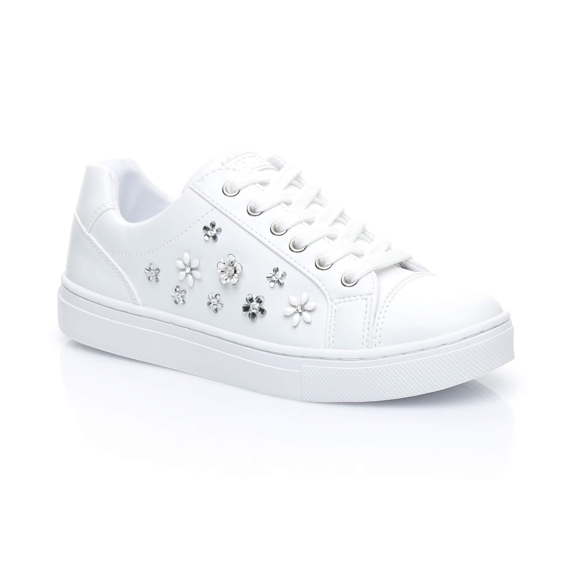 Guess Jamıt Kadın Beyaz Sneakers