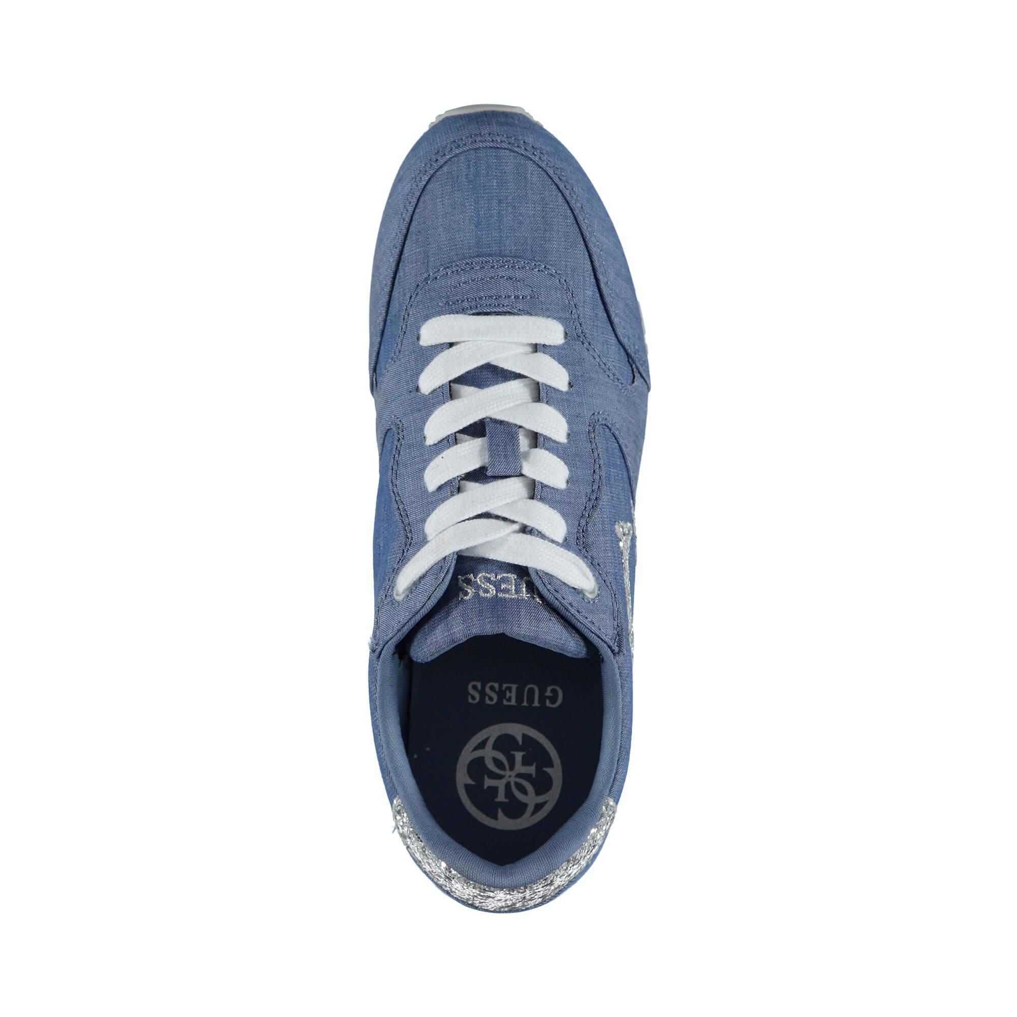Guess Johnny3 Kadın Mavi Sneaker