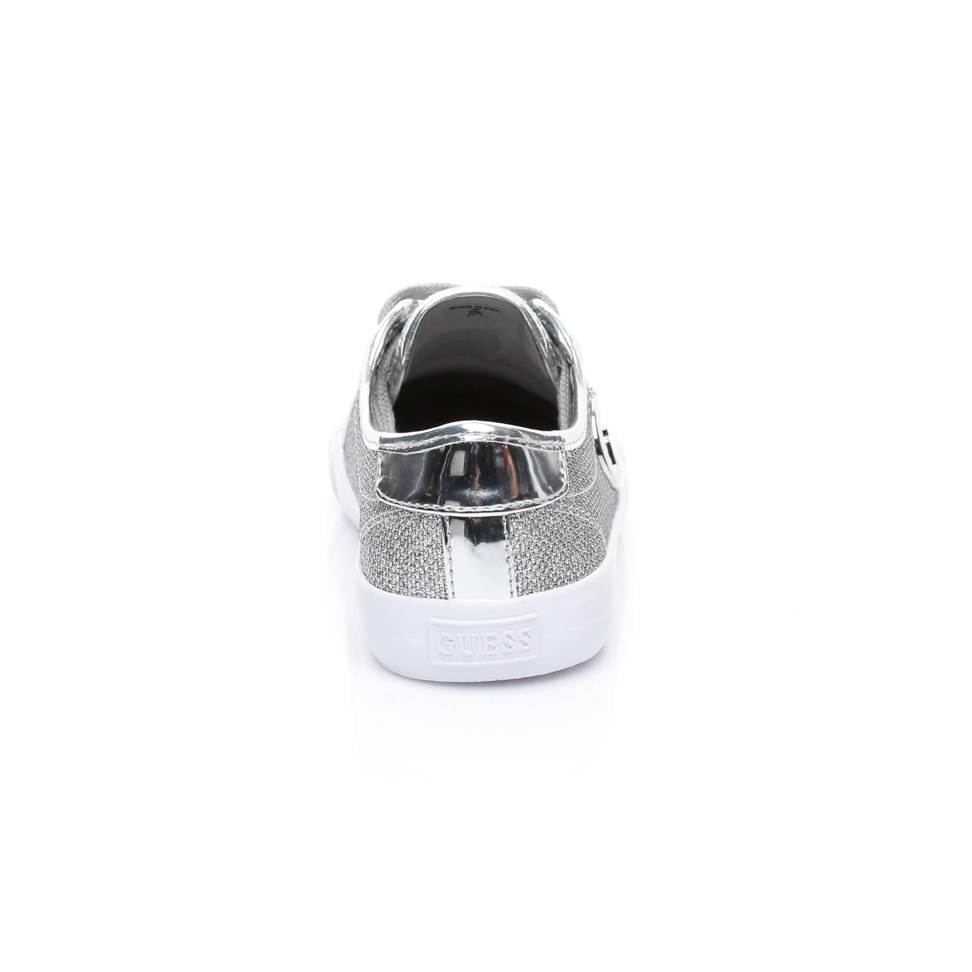 Guess Elly Kadın Gümüş Sneakers