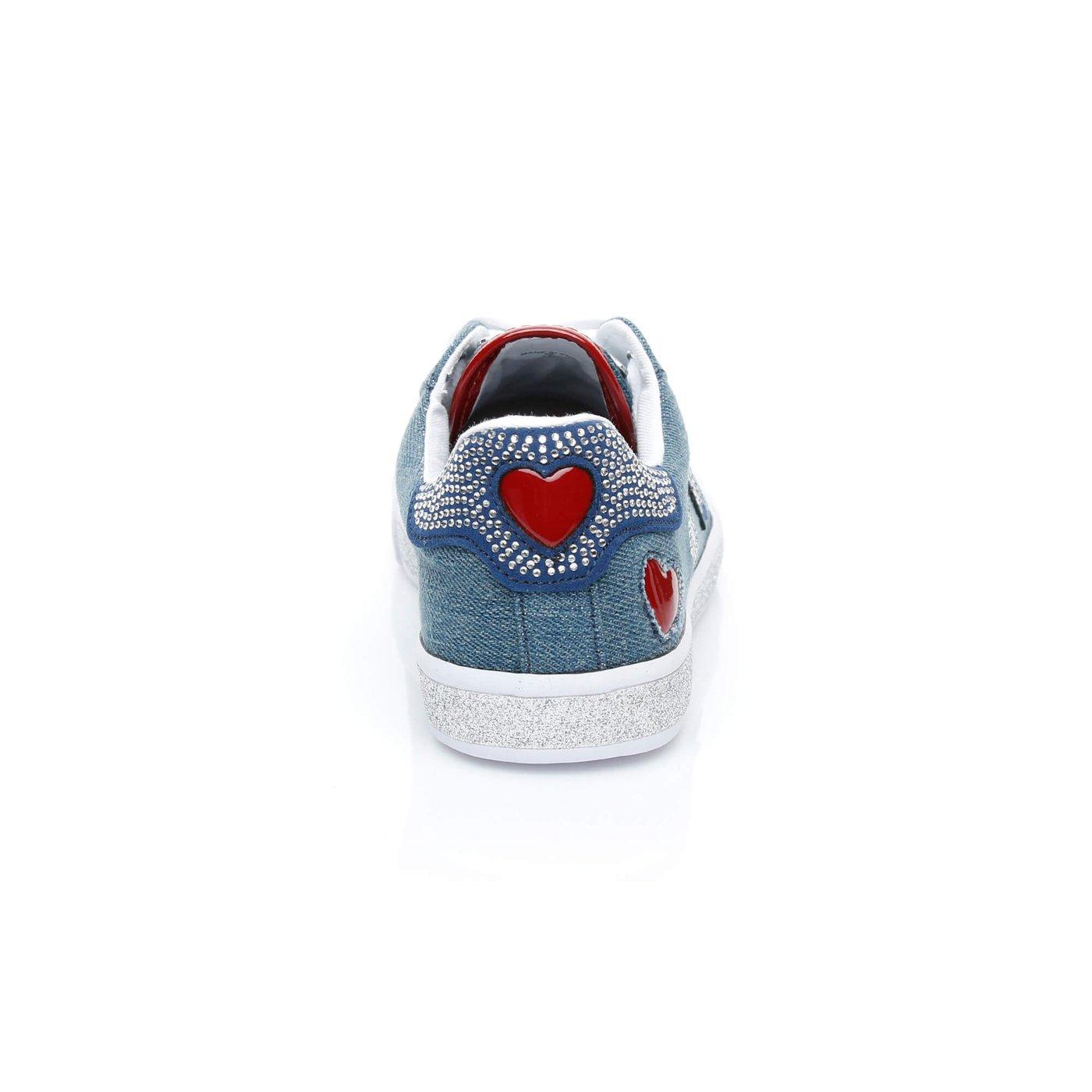 Guess Memphıs3 Kadın Mavi Sneakers