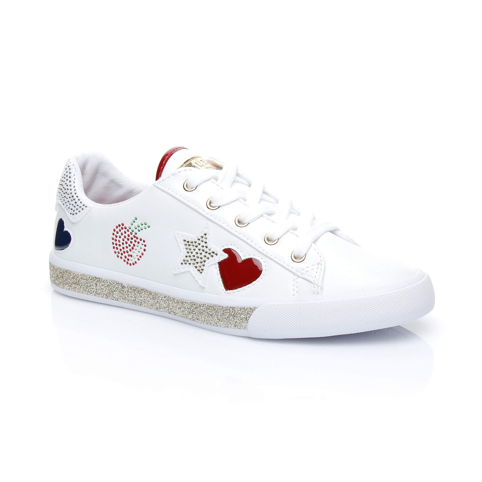 Guess Memphıs Kadın Beyaz Sneakers