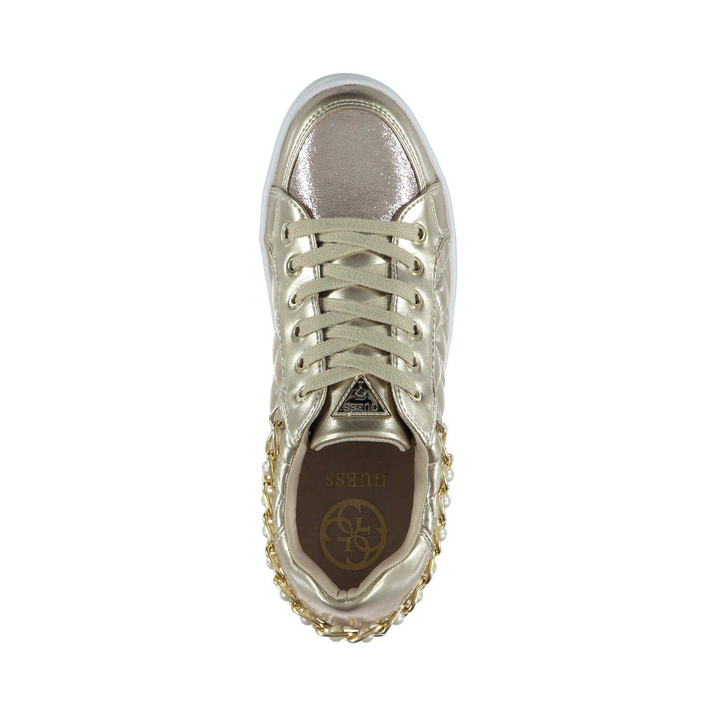 Guess Brıann2 Kadın Altın Sneaker