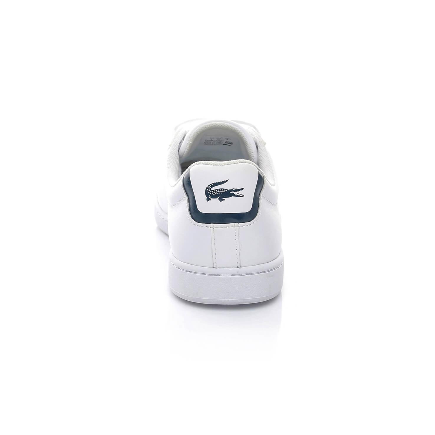 Lacoste Carnaby Evo BL Kadın Beyaz Sneaker