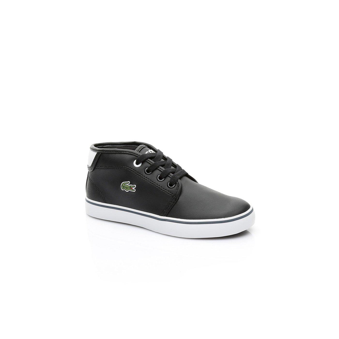 Lacoste Ampthill Çocuk Siyah Sneaker