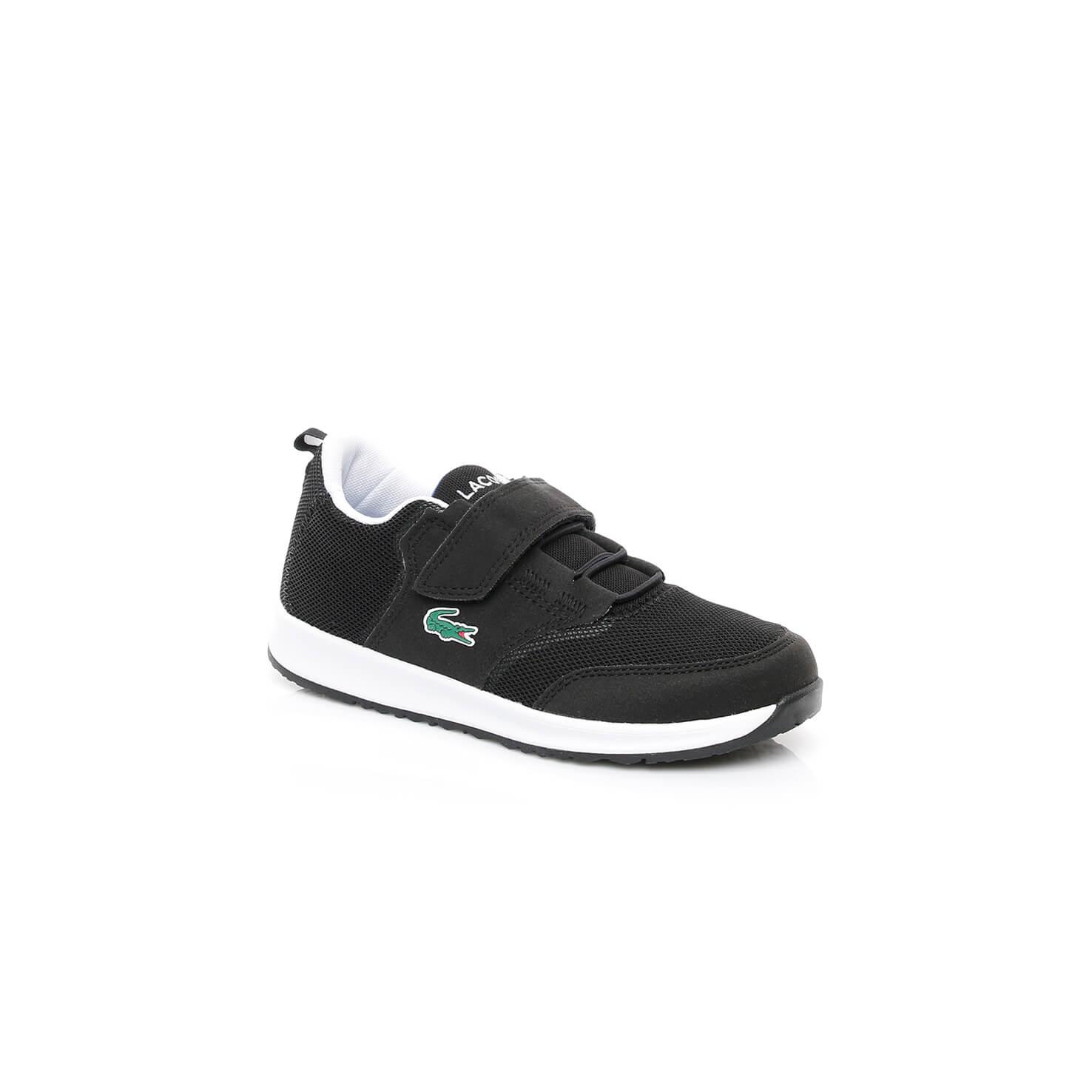 Lacoste L ight Çocuk Siyah Sneaker