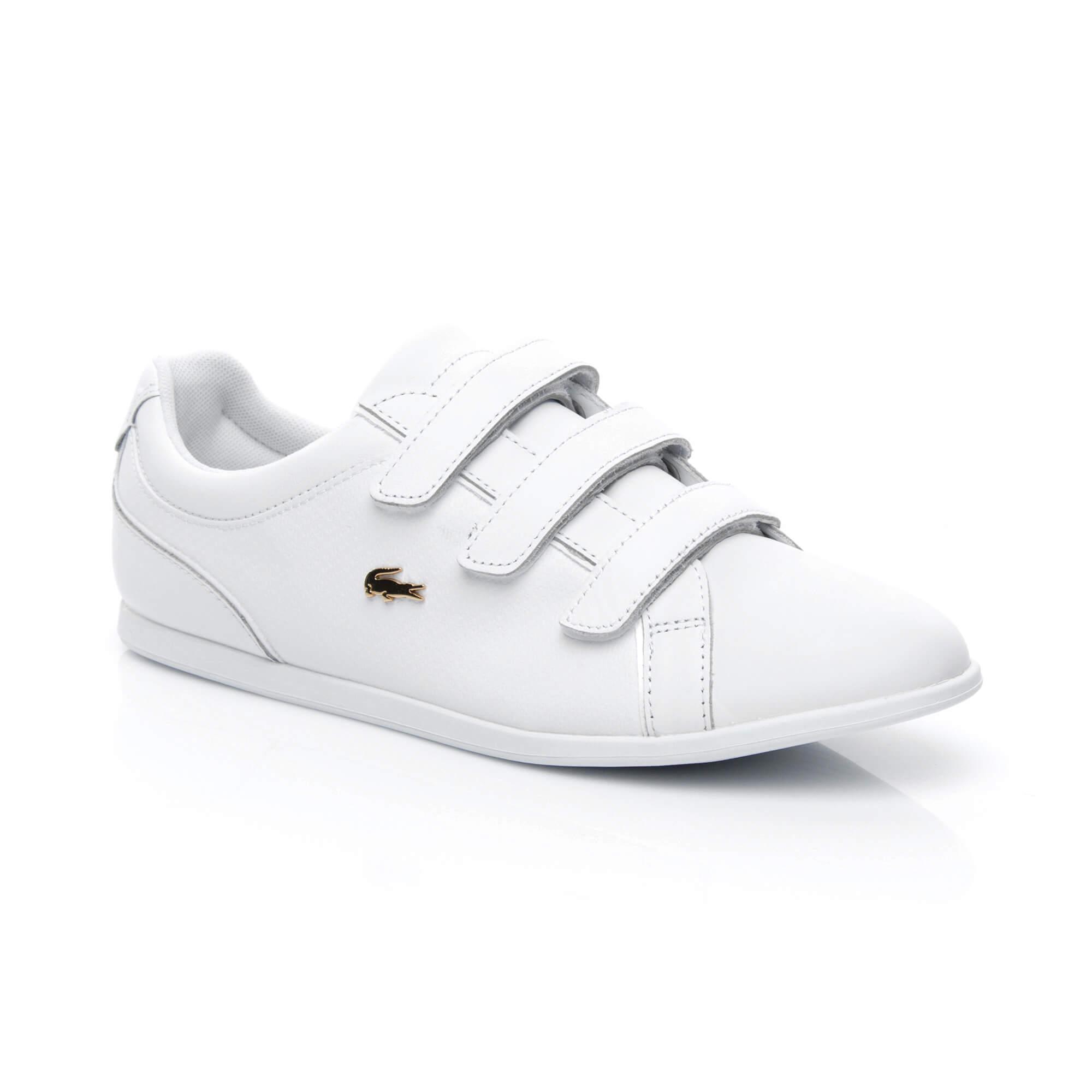 Lacoste Rey Strap Kadın Beyaz Sneaker