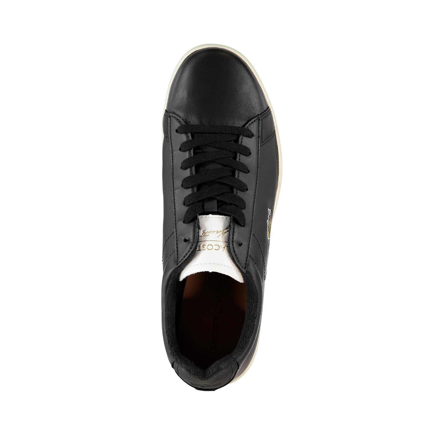 Lacoste Carnaby Evo Erkek Siyah Sneaker