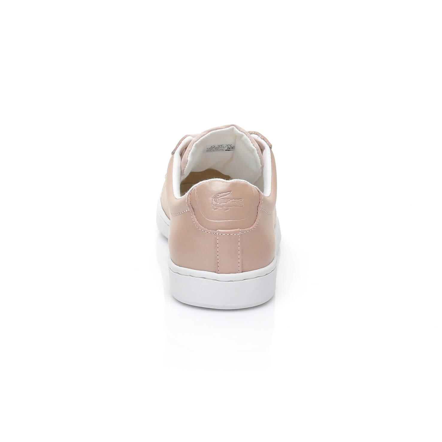 Lacoste Carnaby Evo Kadın Pembe Sneaker