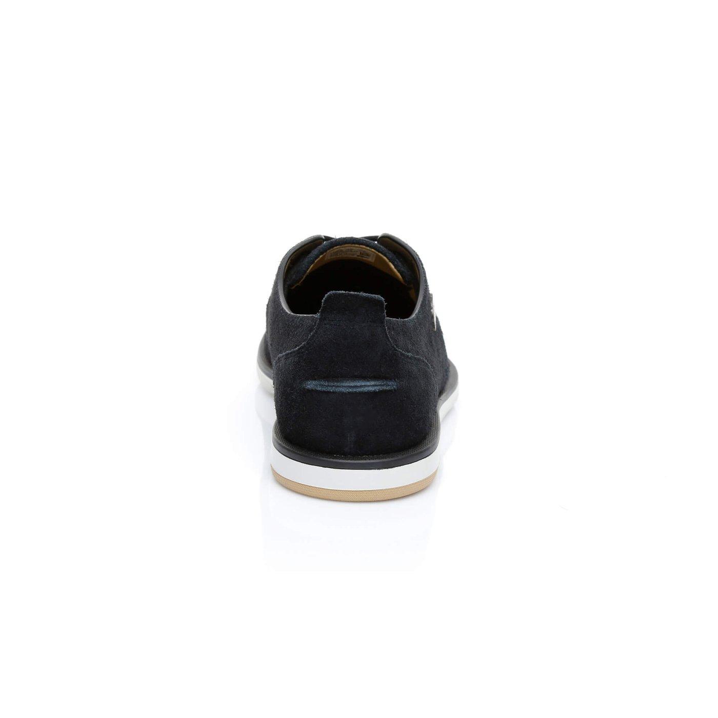 Lacoste Laccord Deck Erkek Siyah Sneakers
