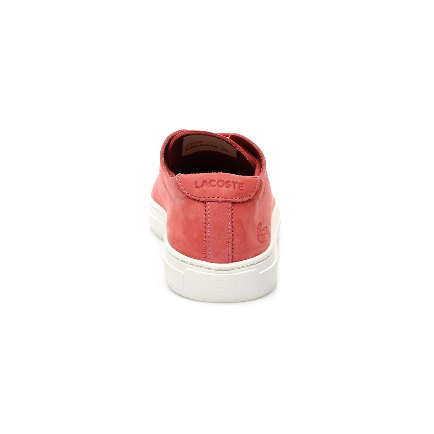 Lacoste L 12 12 Unline Kadın Kırmızı Sneaker
