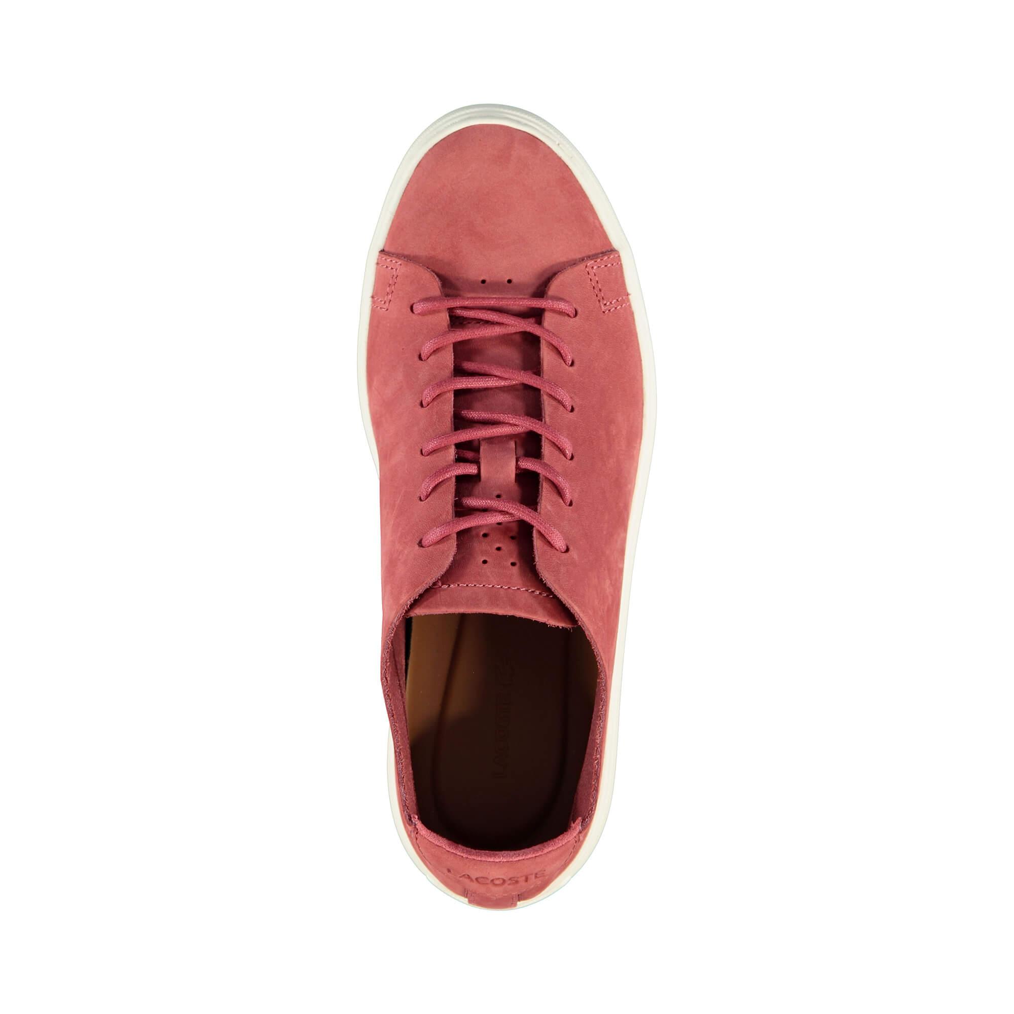 Lacoste L.12.12 Unlined Kadın Kırmızı Sneaker