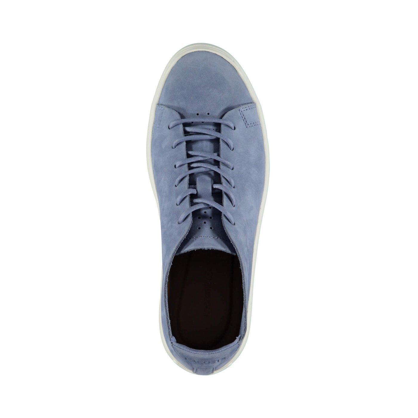 Lacoste L.12.12 Unlined Kadın Mavi Sneaker