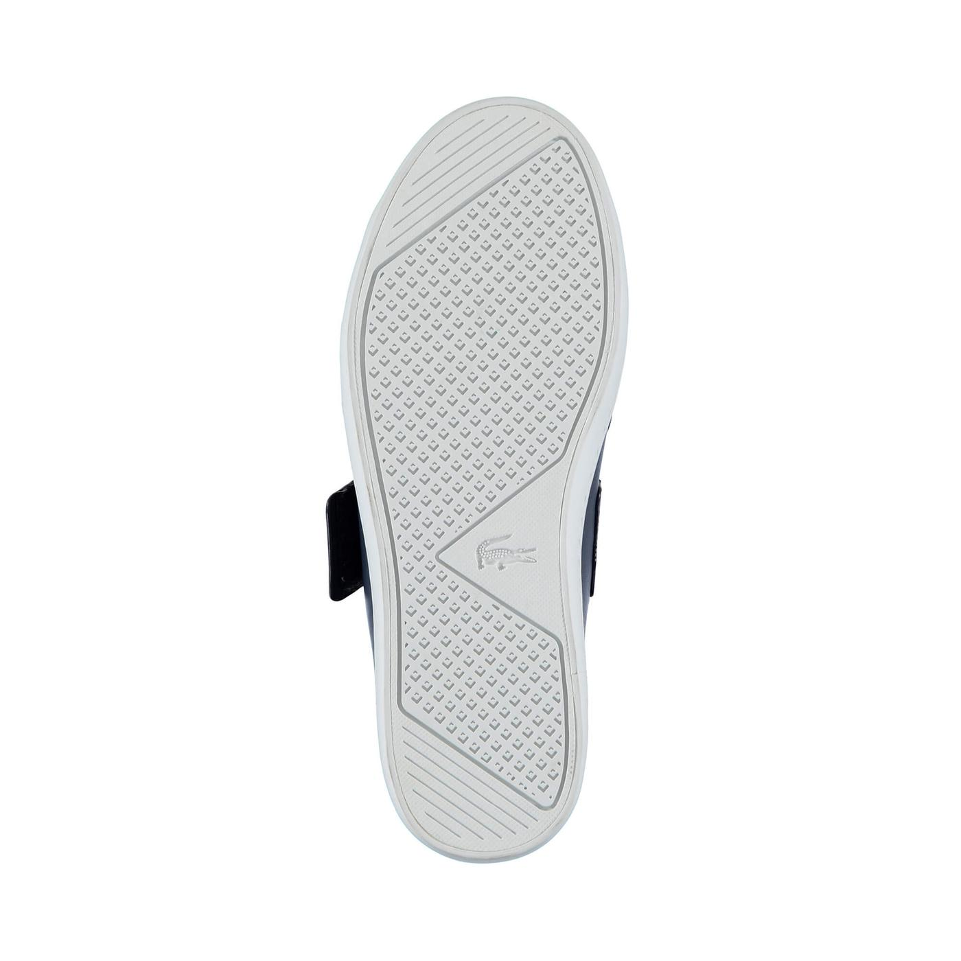 Lacoste Straightset Strap Kadın Lacivert Sneaker