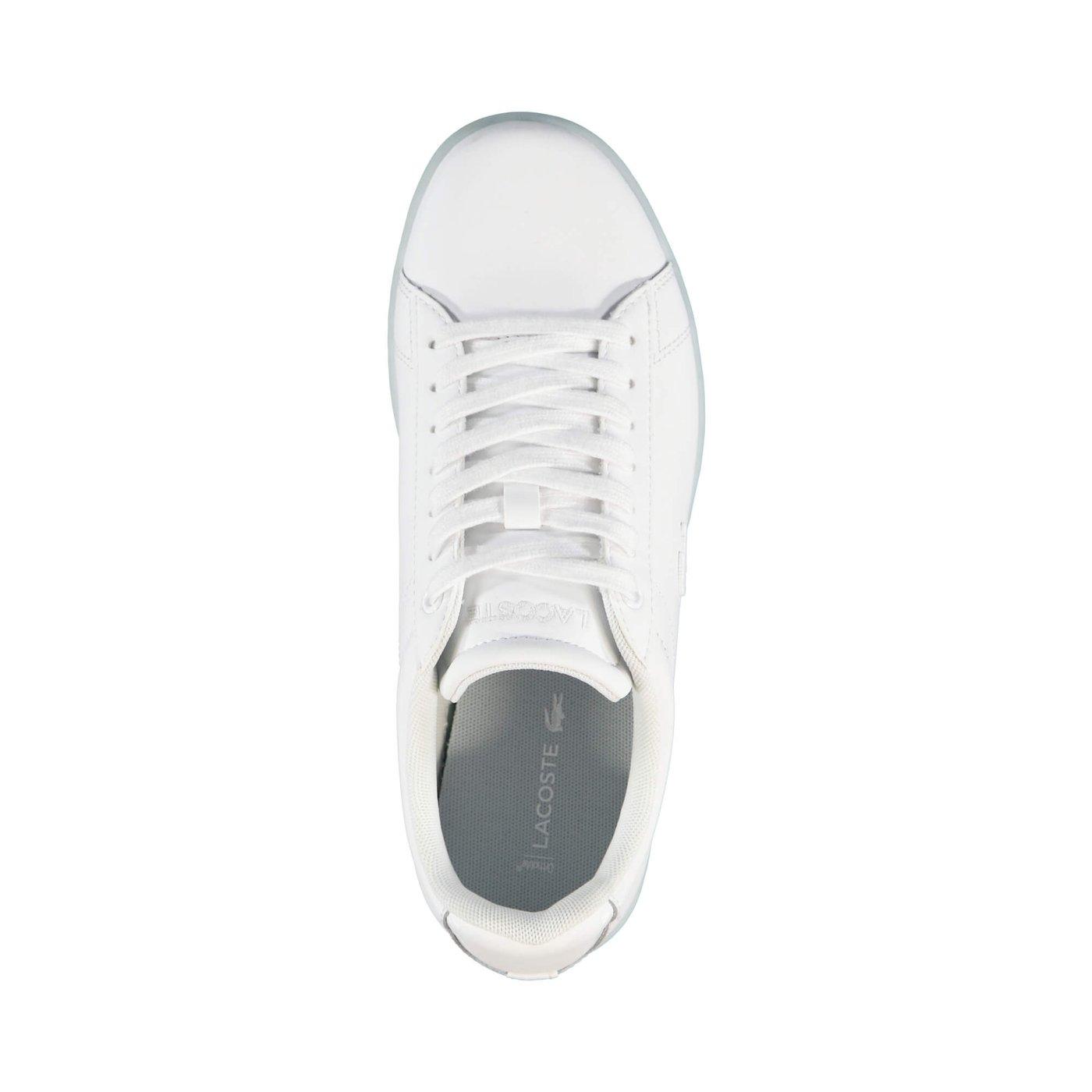 Lacoste Carnaby Evo Kadın Beyaz Sneaker