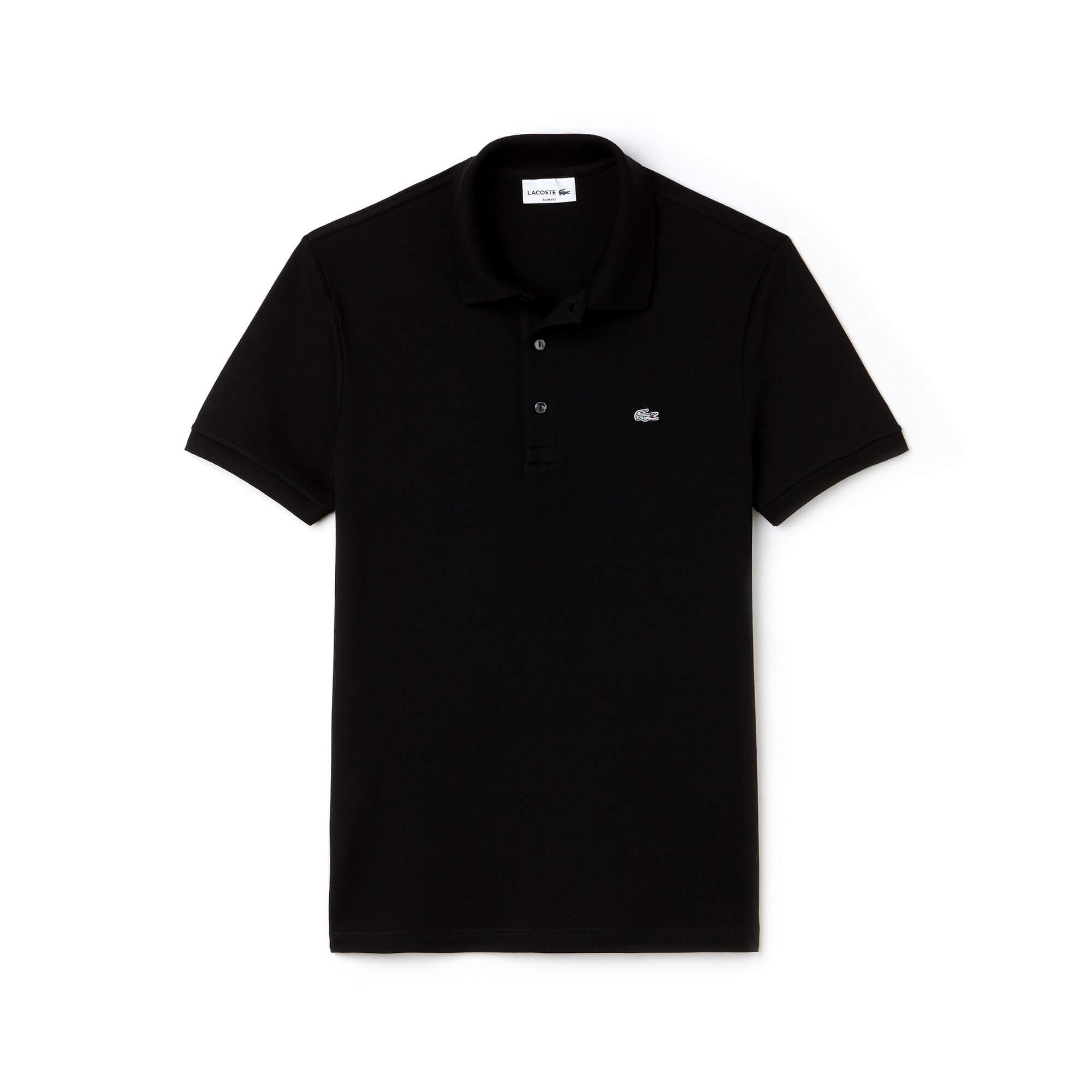 Lacoste  Erkek Siyah Polo