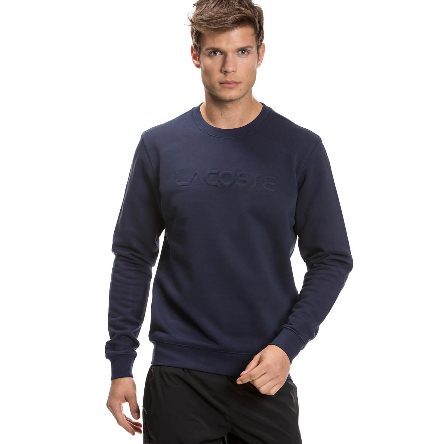 Lacoste Erkek Lacivert Sweatshirt