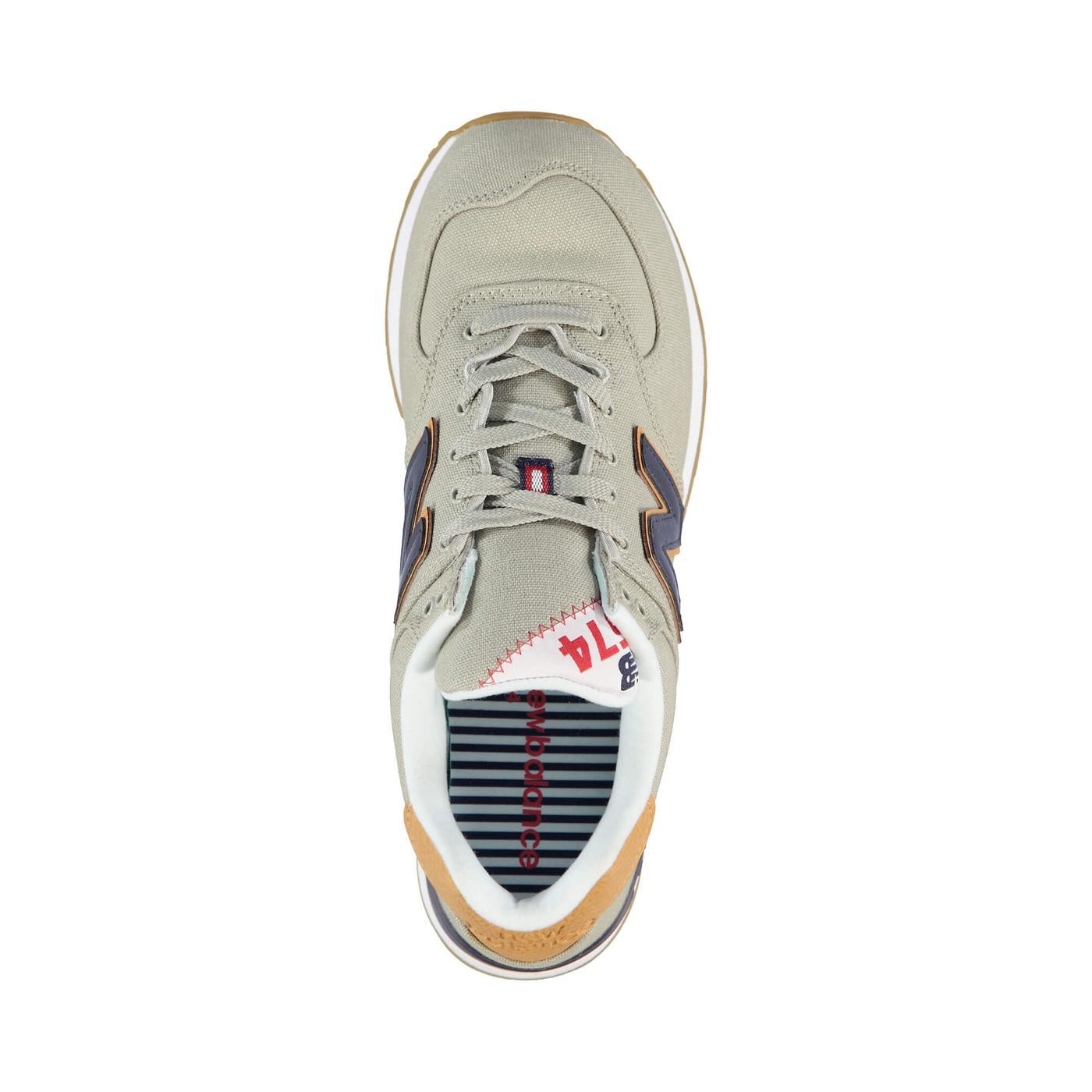 New Balance 574 Yacht Life Erkek Gri Sneaker