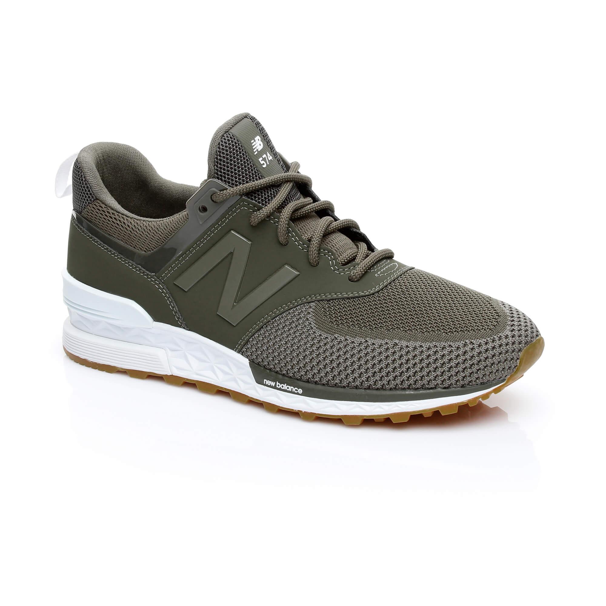 New Balance 574 Engineered Erkek Yeşil Sneaker
