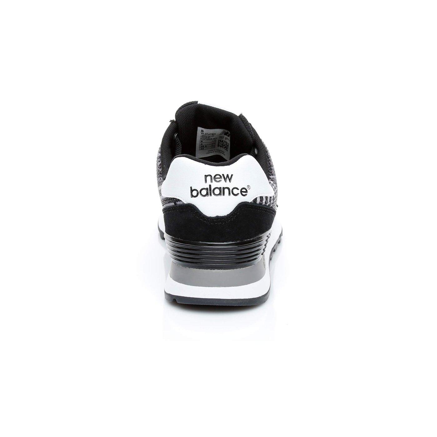 New Balance 574 Beaded Kadın Siyah Sneaker