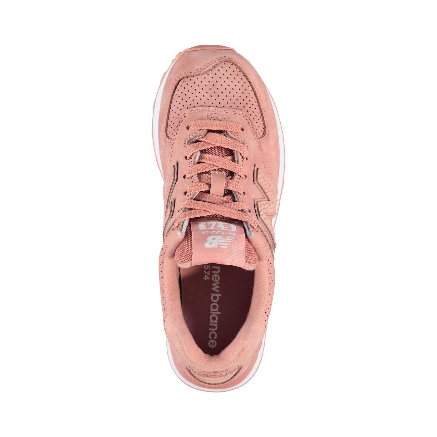 New Balance 574 Serp Luxe Kadın Pembe Sneaker