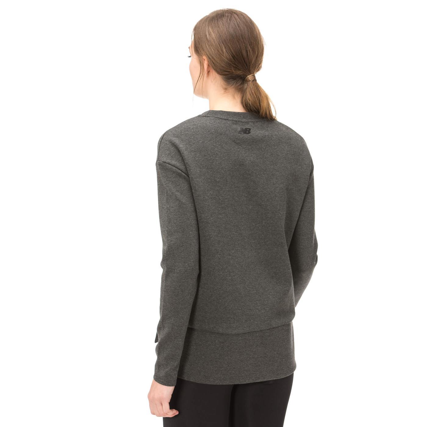 New Balance Gri Erkek Sweatshirt