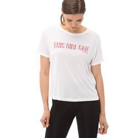 New Balance Kadın Beyaz Tshirt