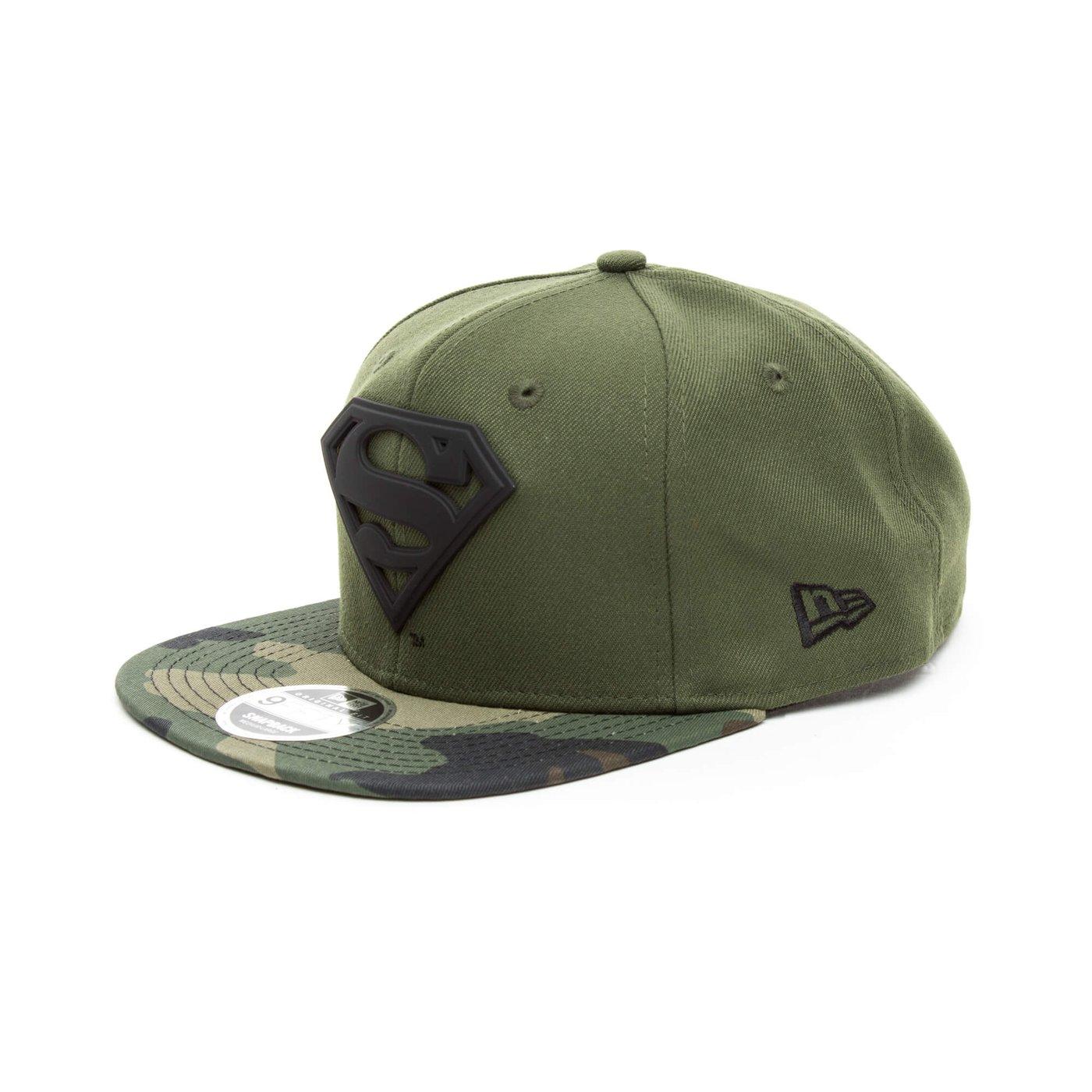 New Era Superman Unisex Yeşil Şapka