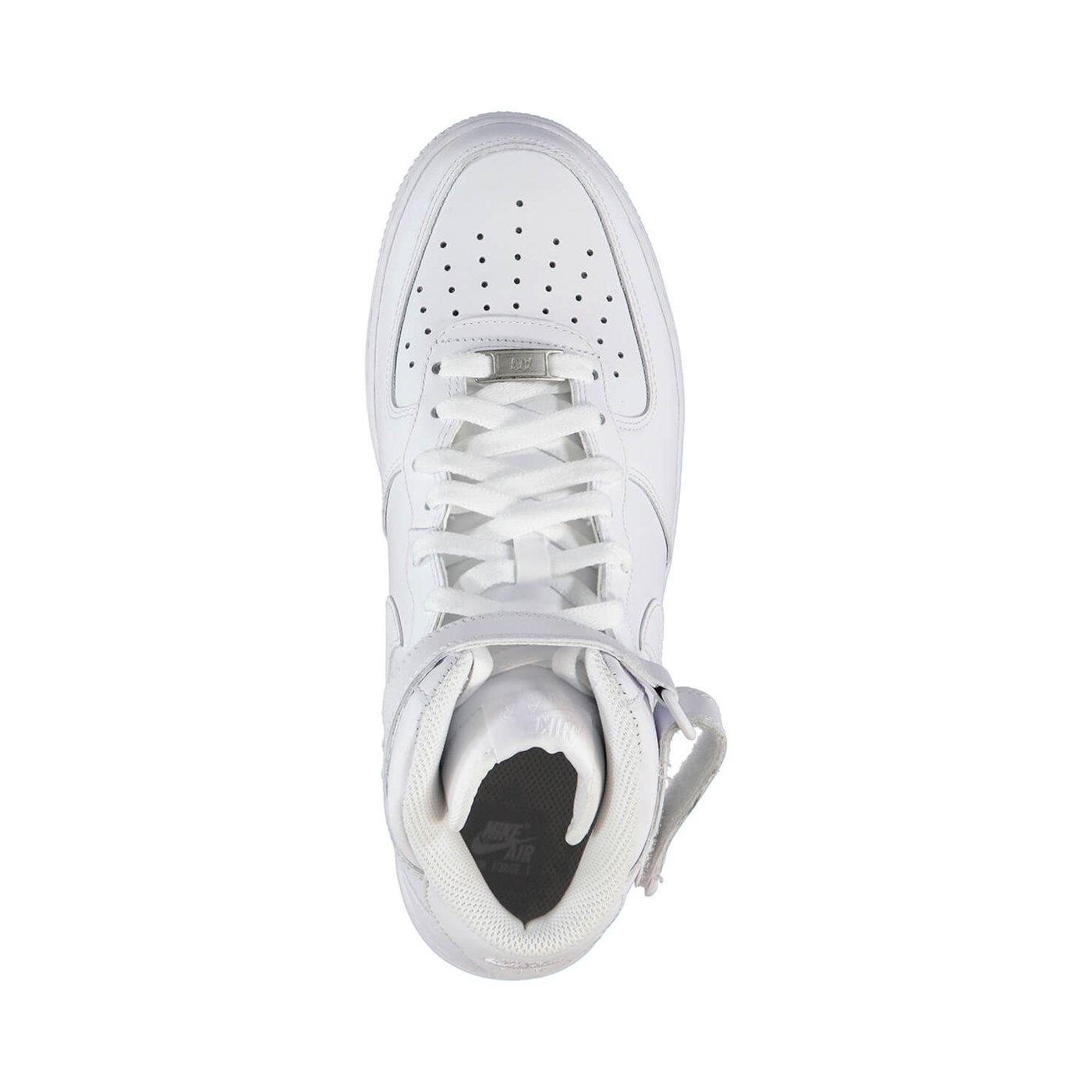Nike Air Force 1 Mid '07 Erkek Beyaz Sneaker