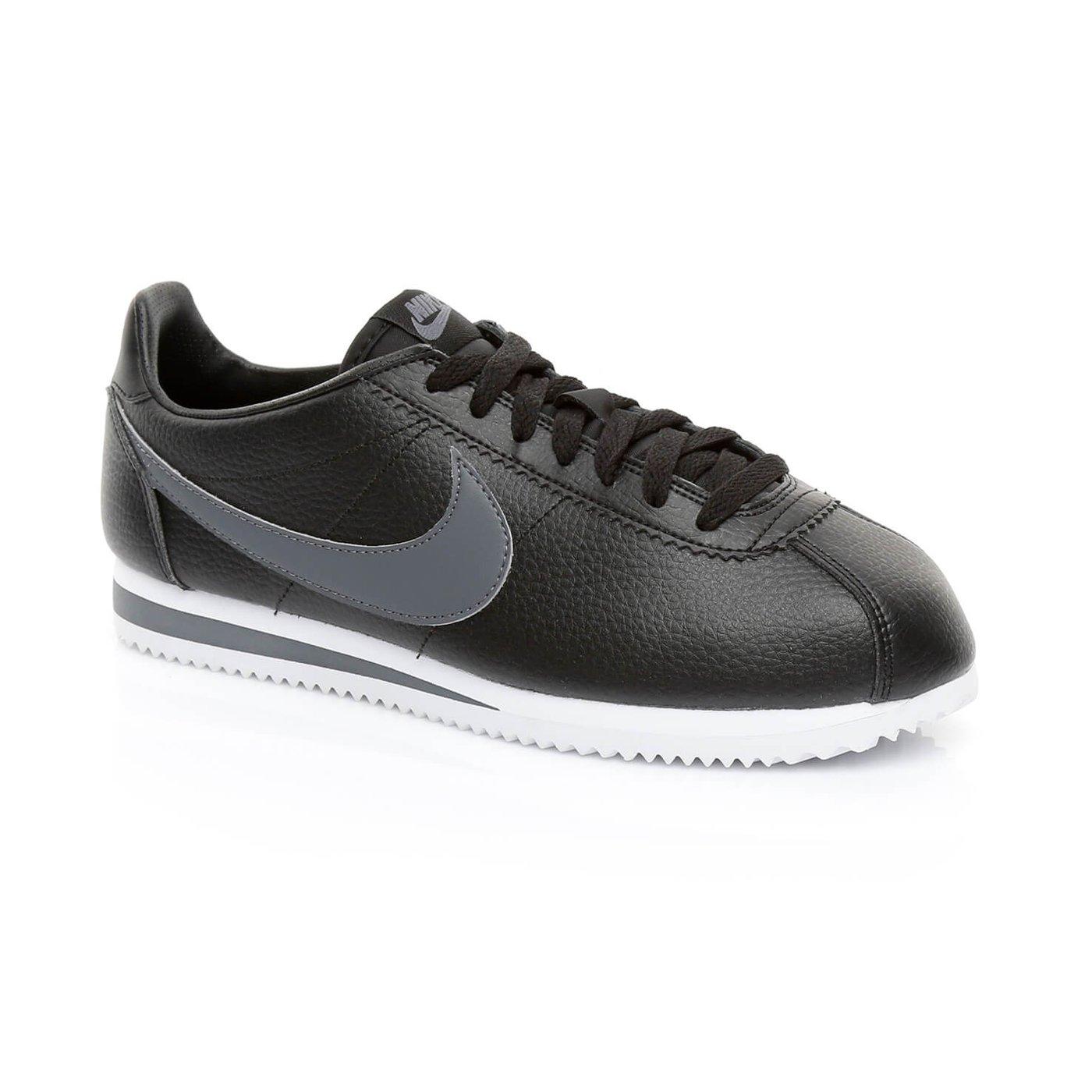 Nike Classic Cortez Erkek Siyah Sneaker