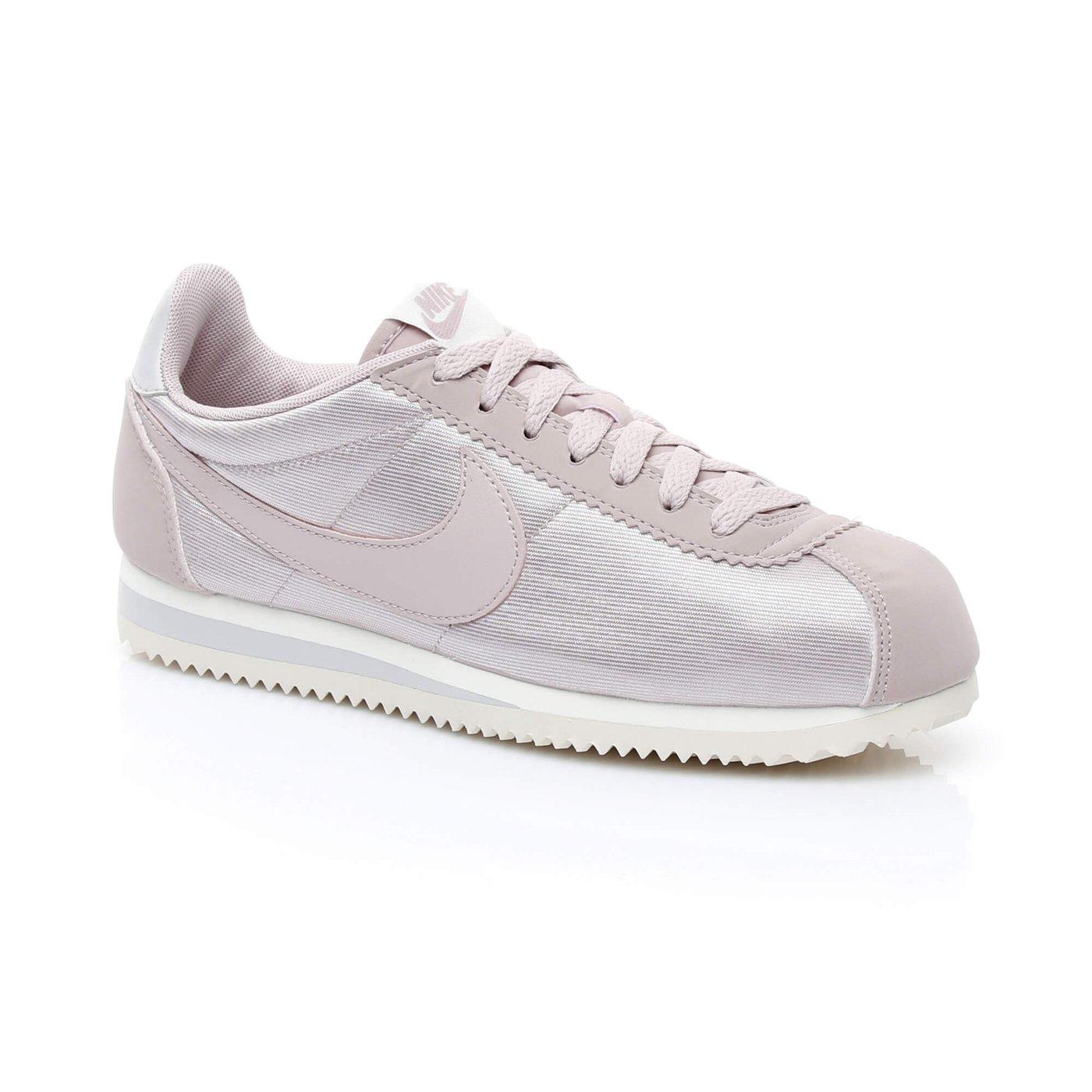 Nike Classic Cortez Nylon Kadın Pembe Sneaker