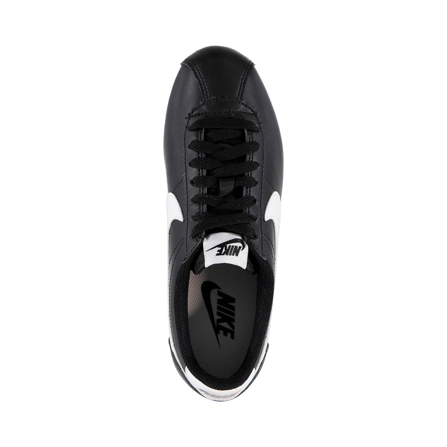 Nike Classic Cortez Leather Kadın Siyah Sneaker