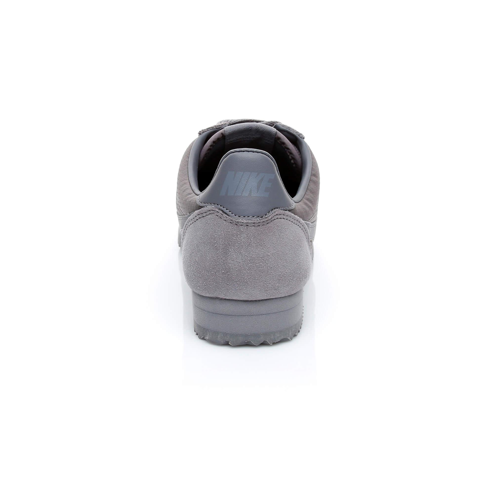 Nike Classic Cortez Nylon Erkek Gri Sneaker