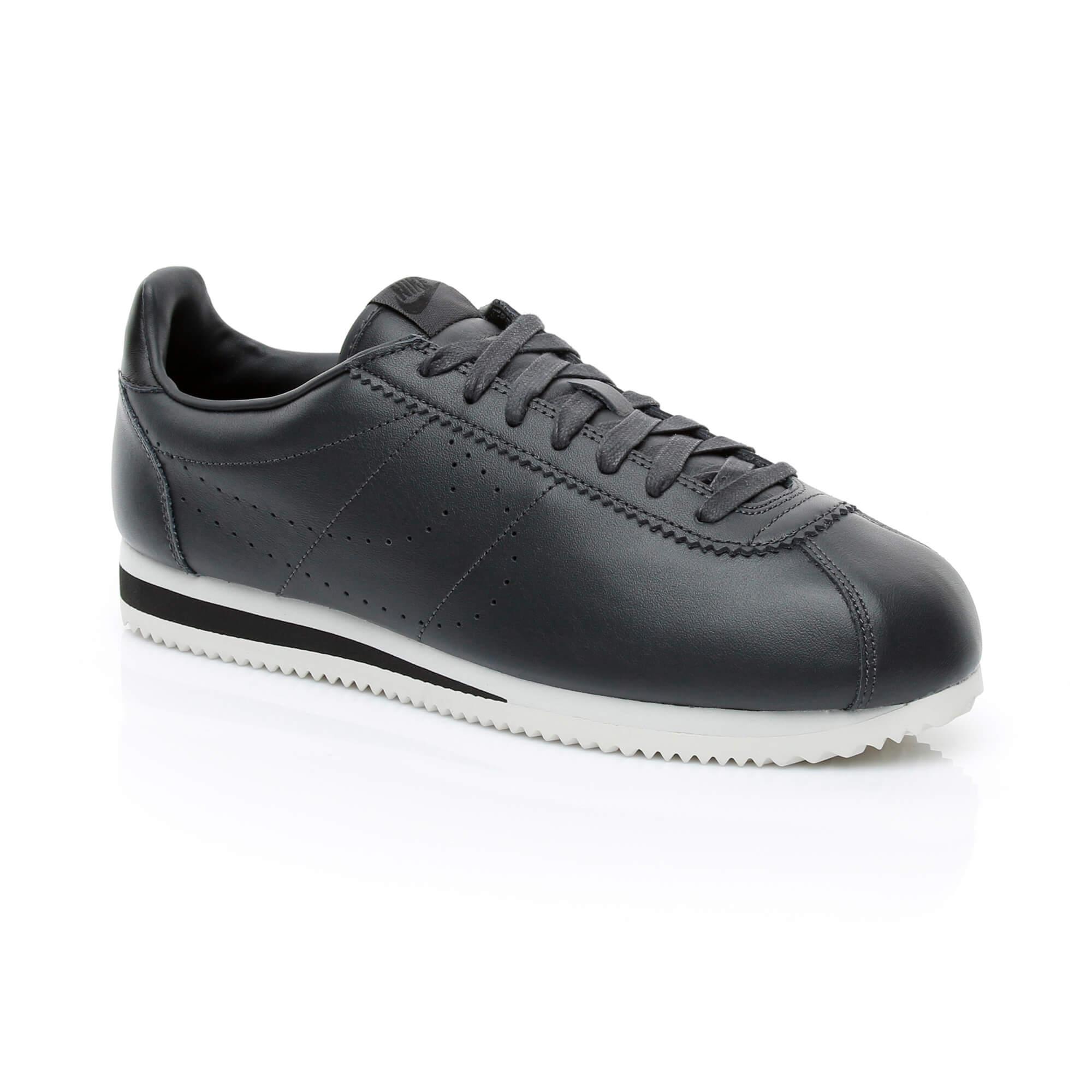 Nike Classic Cortez Leather Prem Erkek Siyah Sneaker