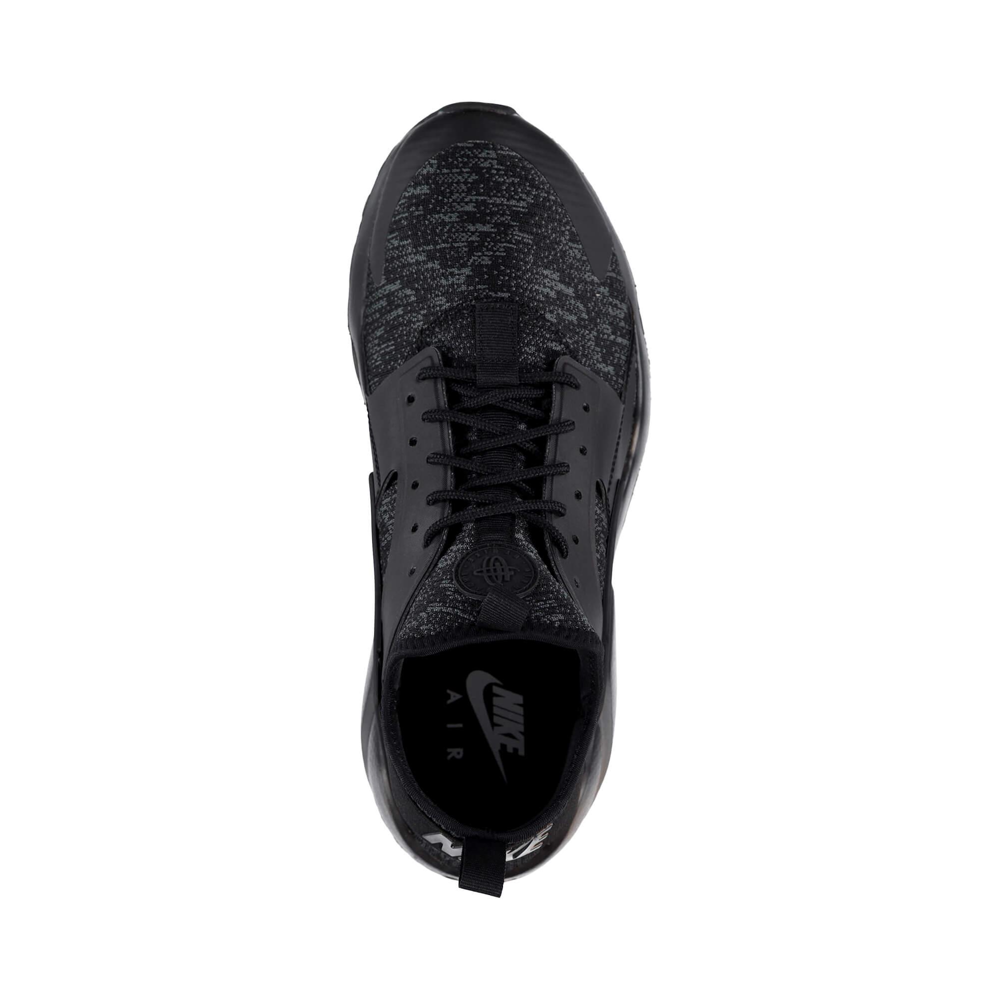 Nike Air Huarache Run Ultra SE Erkek Siyah Spor Ayakkabı