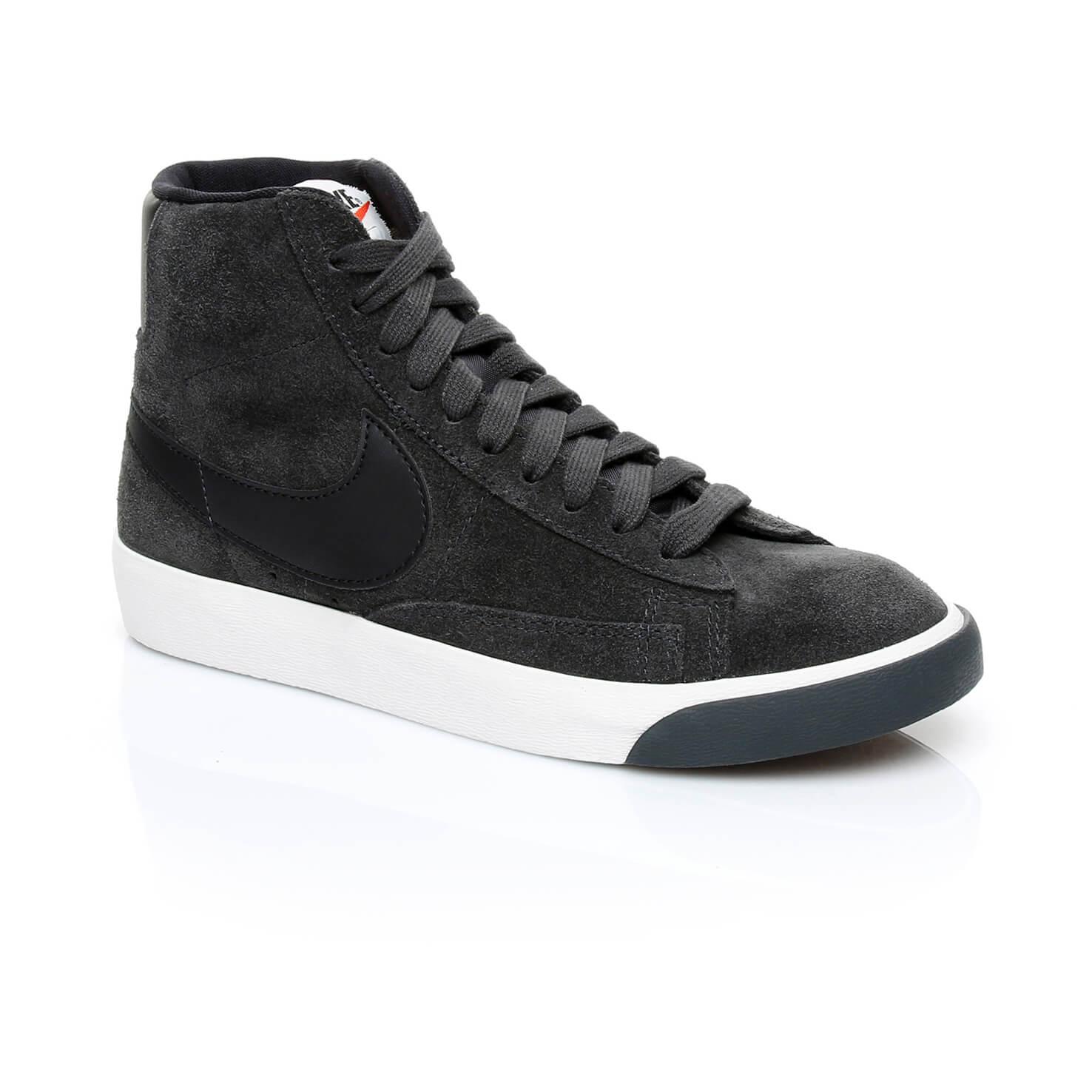 Nike Blazer Mid Vintage Kadın Siyah Sneaker