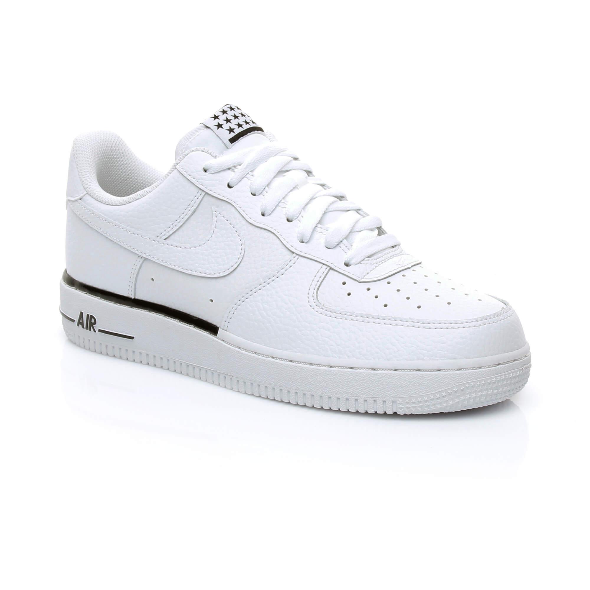 Nike Air Force 1 '07 Erkek Beyaz Sneaker