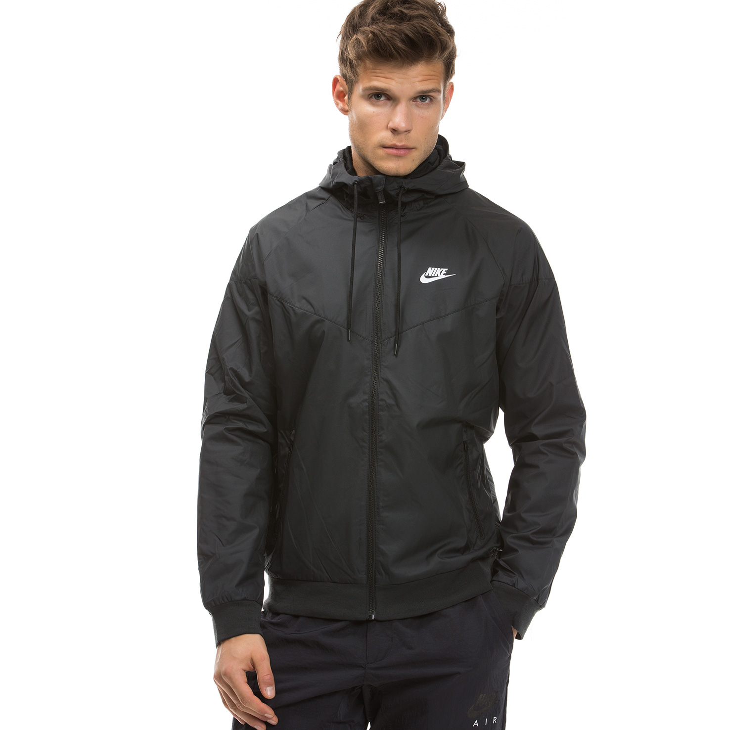 Nike Sportswear Windrunner Erkek Siyah Ceket