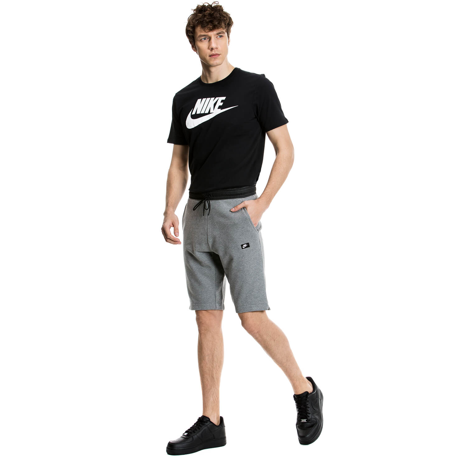 Nike Erkek Gri Şort