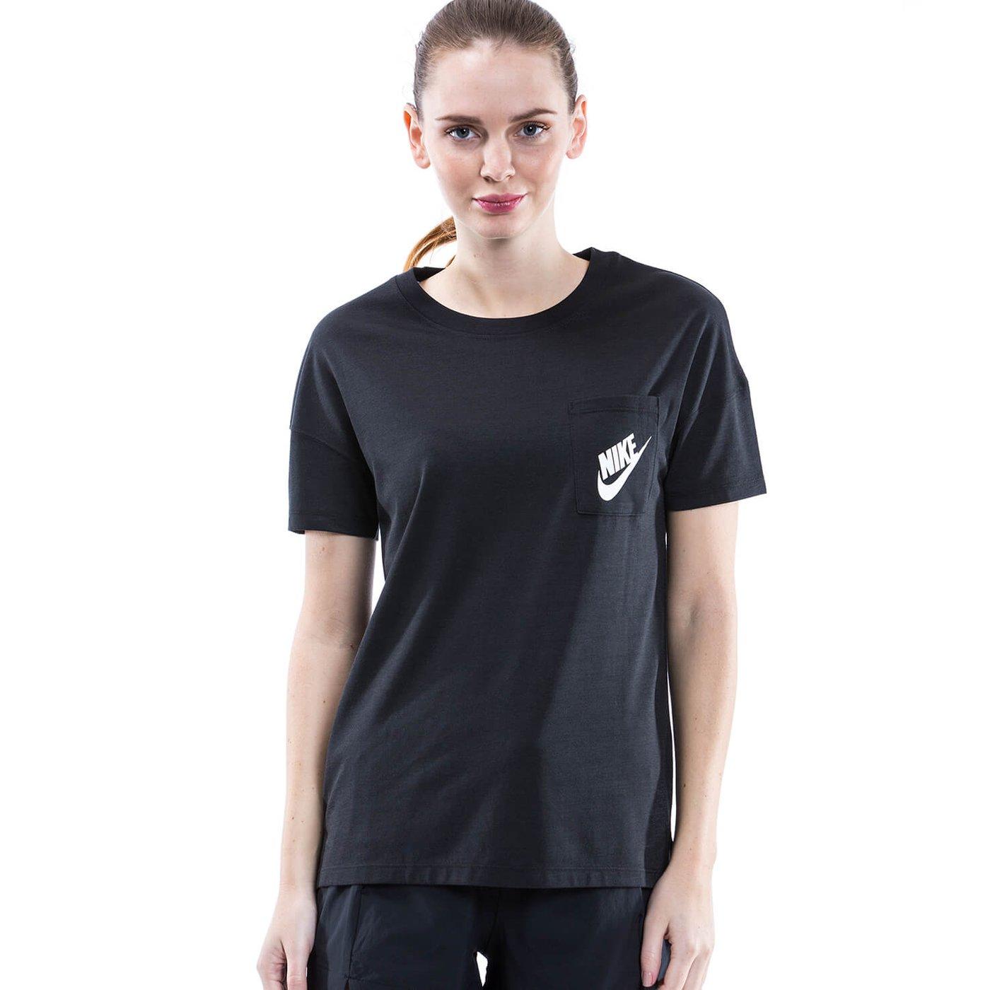 Nike Kadın Siyah Tshirt