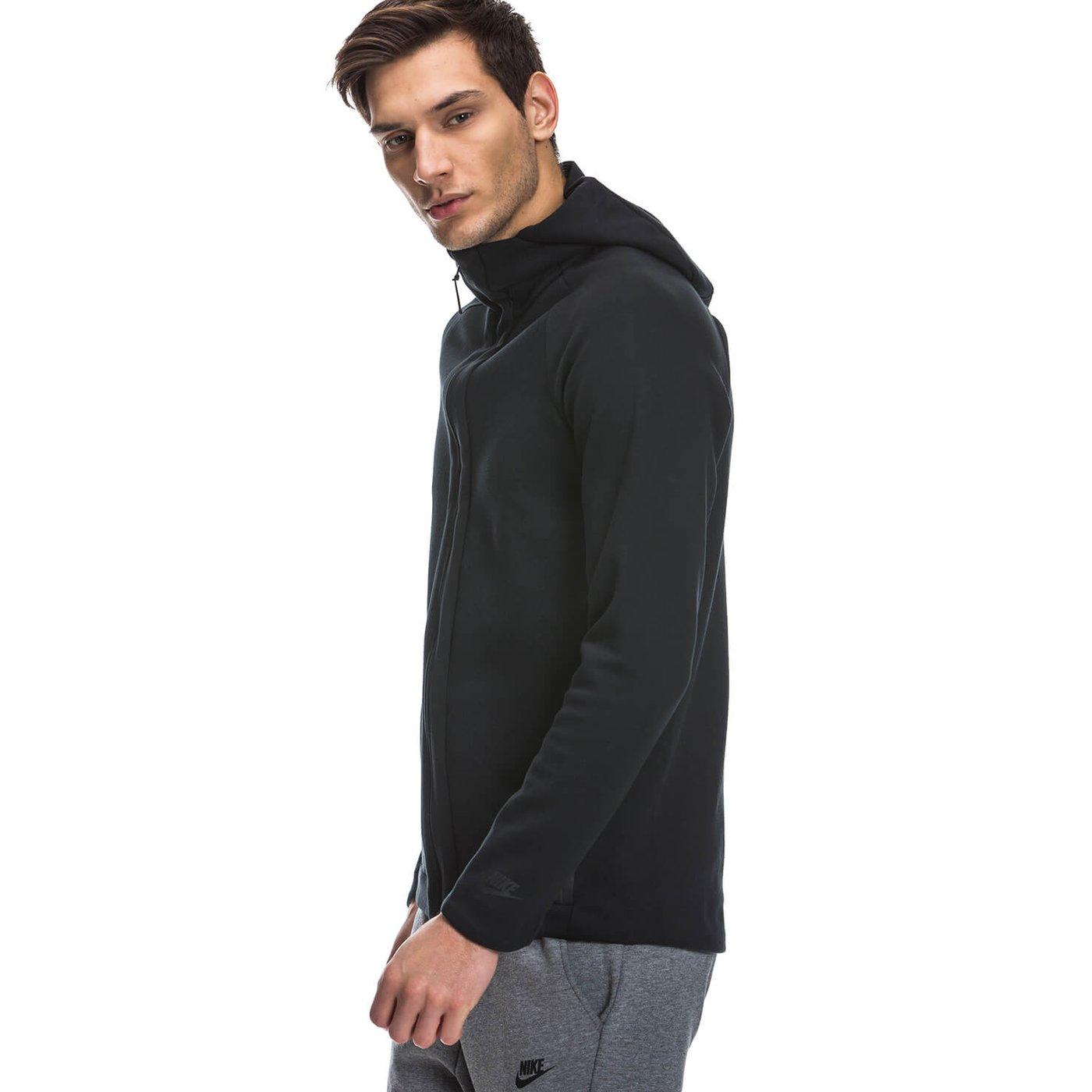 Nike Hoodie Erkek Siyah Sweatshirt