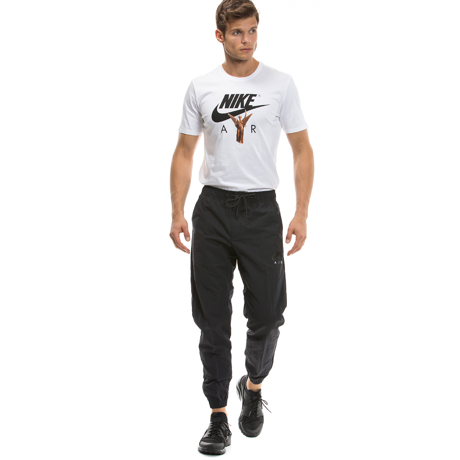 Nike Nsw Pant Air Wvn Erkek Siyah Eşofman Altı