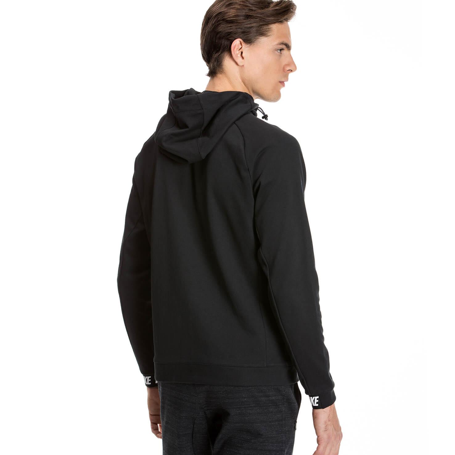 Nike Av15 Hoodie Fz Flc Erkek Siyah Sweatshirt