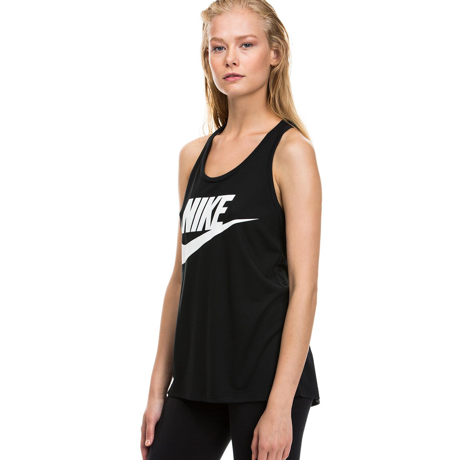 Nike Essential Kadın Siyah Atlet