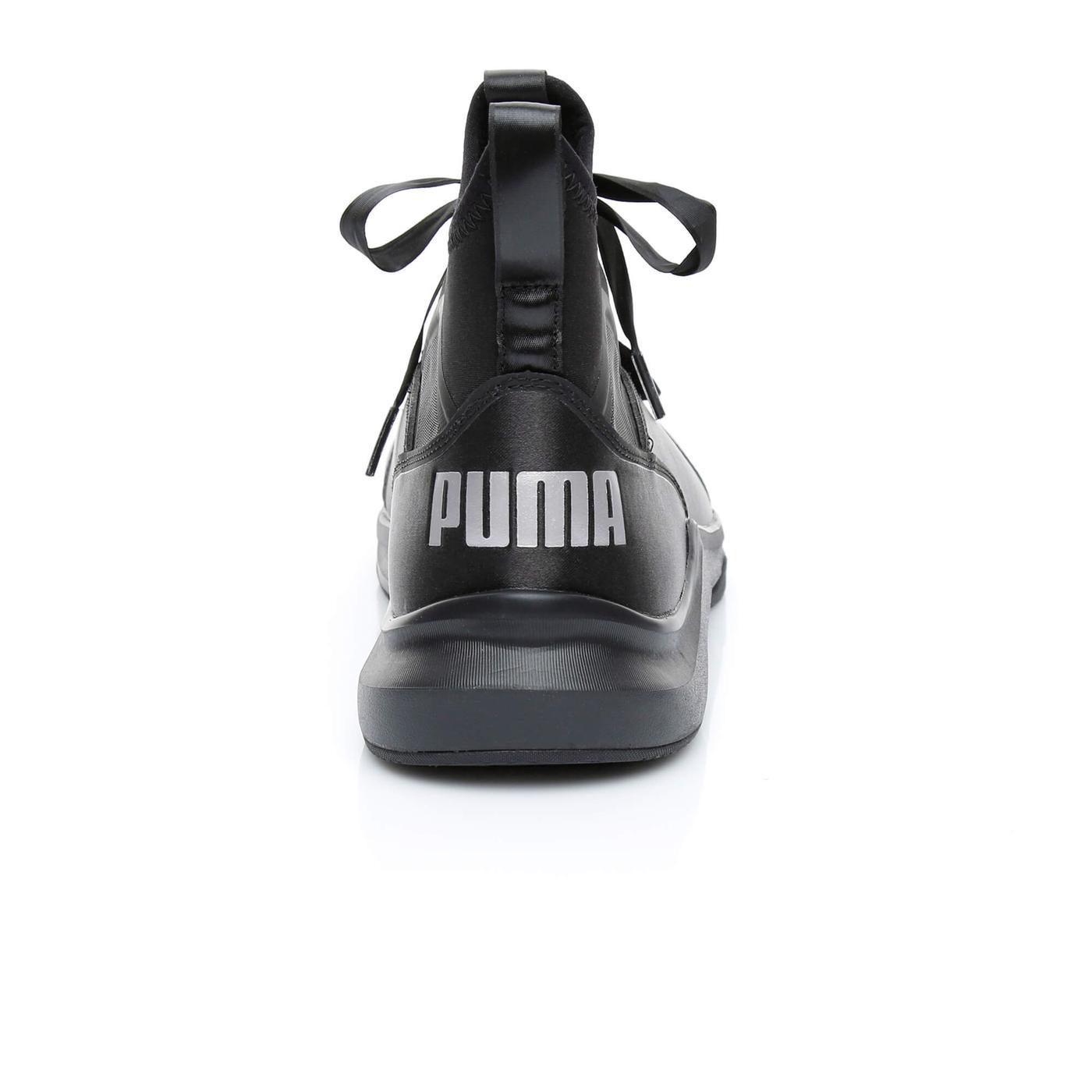 Puma Phenom Satin EP Kadın Siyah Spor Ayakkabı