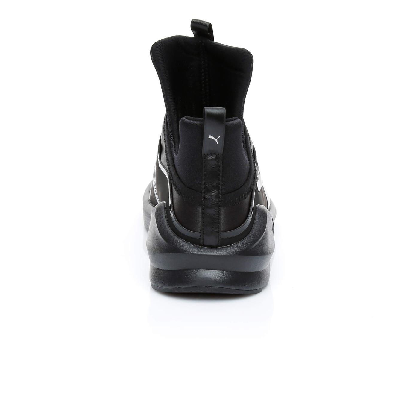 Puma Fierce Satin EP Kadın Siyah Sneaker