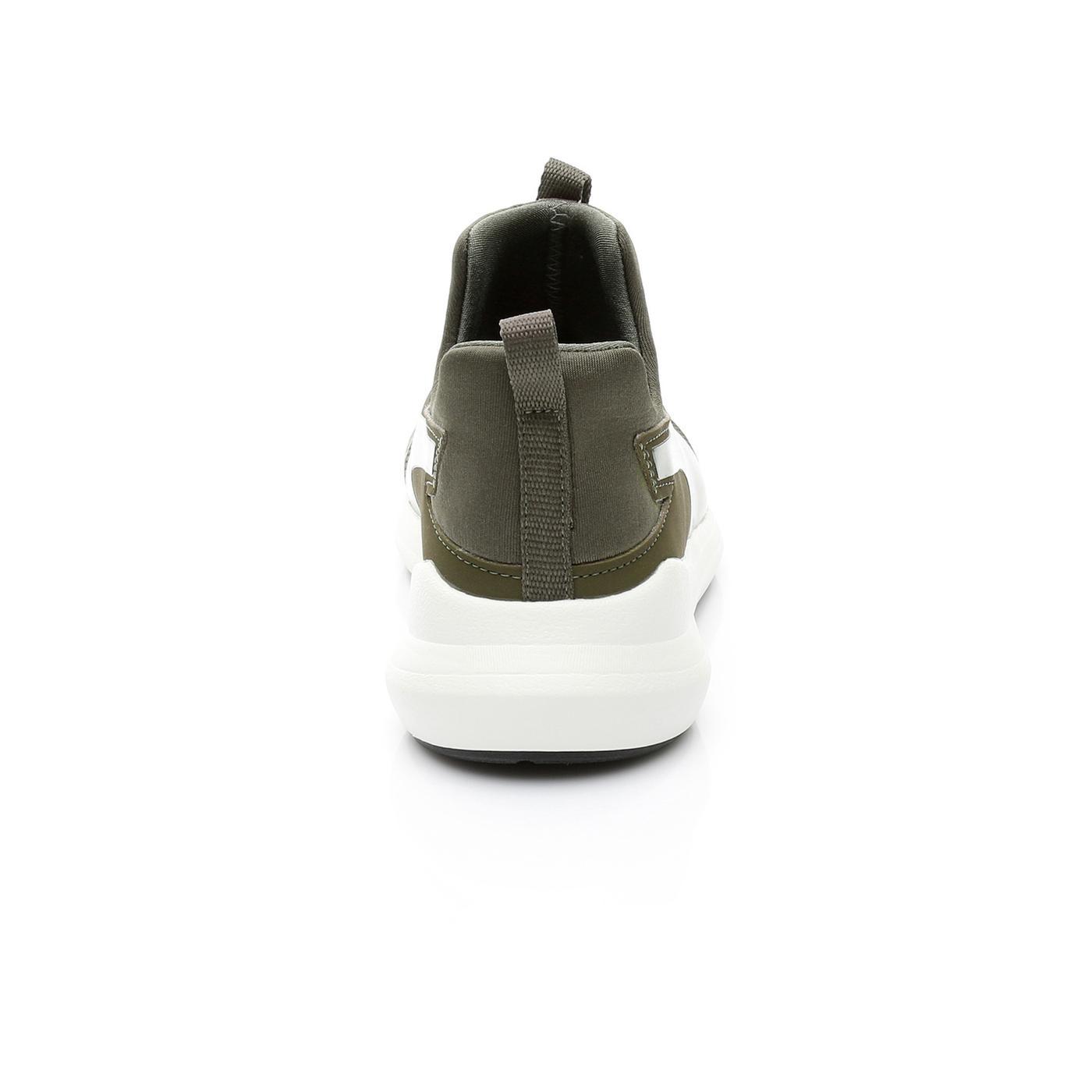 Puma Rebel Mid Kadın Yesıl Sneaker