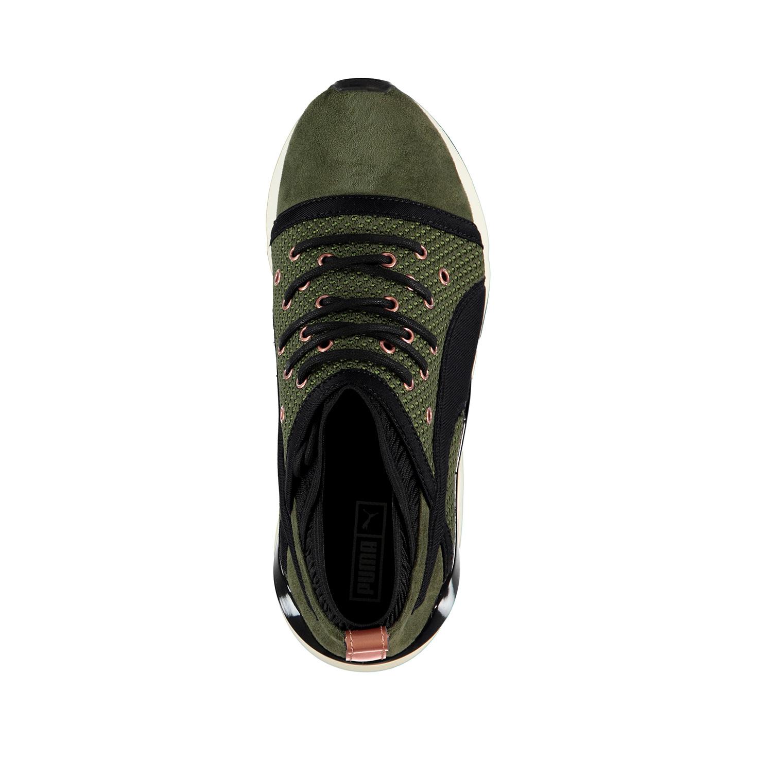 Puma Pearl Velvet Rope Kadın Yeşil Sneaker